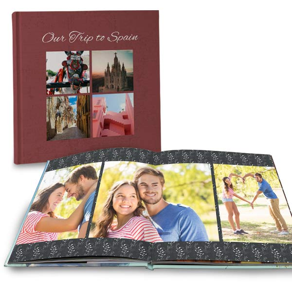 Create a top quality photo book for your best memories with RitzPix premium lay flat books