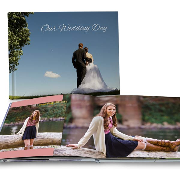 Create a custom book for your wedding or graduation and remember life's greatest events