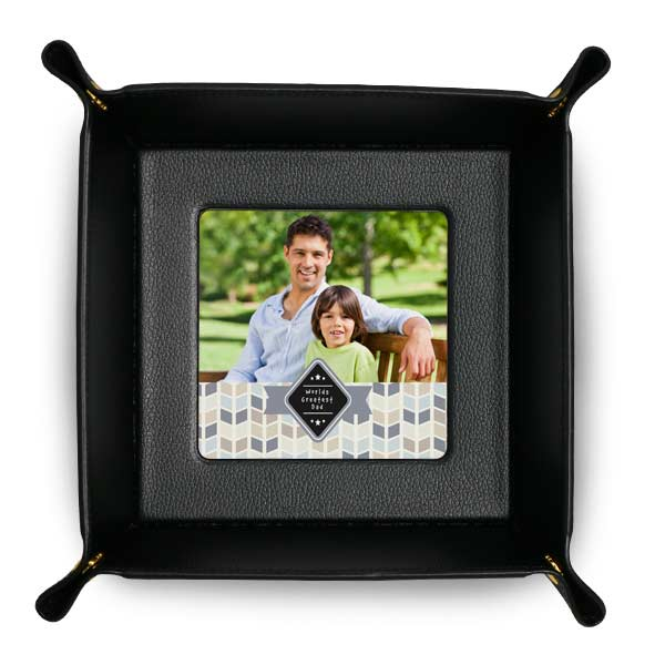 We offer many different photo design options for your custom valet tray