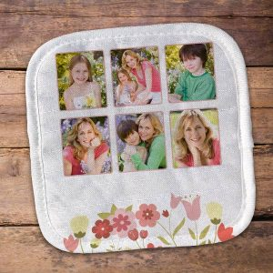 Choose from many design options and create a personalized pot holder gift