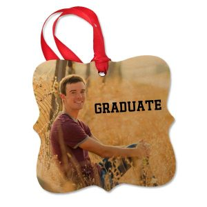 Maple wooden ornament for graduation