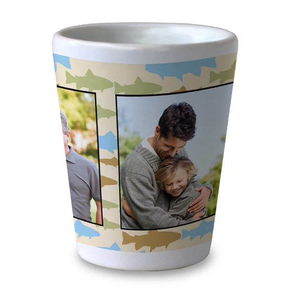 Create a gift for dad with a custom shot glasses from RItzPix