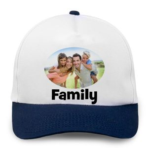 Customize your own base ball cap with photo or logo