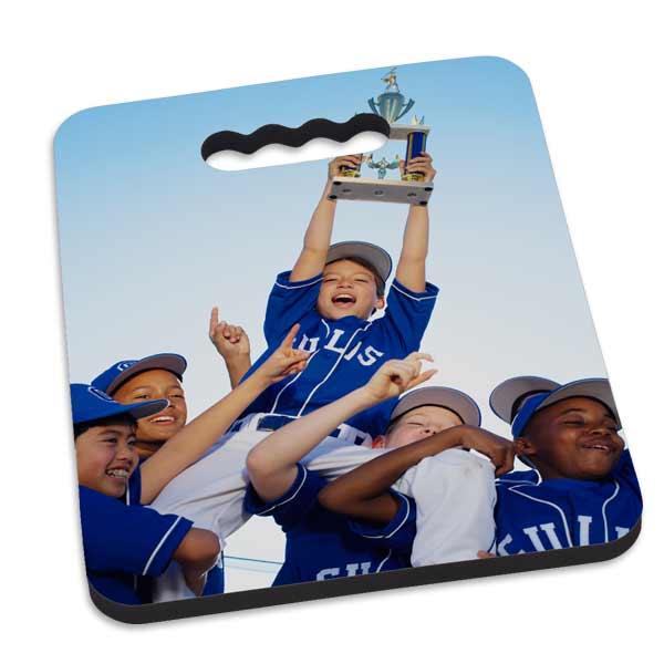 Create your own stadium seat cushion and stay comfortable during sporting events
