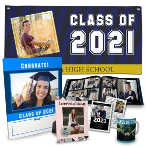 Celebrate your graduate with personalized graduation gear from RItzPix