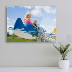 Quality acrylic panels add depth and clarity to your photos