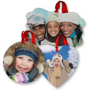 Create beautiful glossy photo ornaments for your holiday celebration and remember your favorite memories