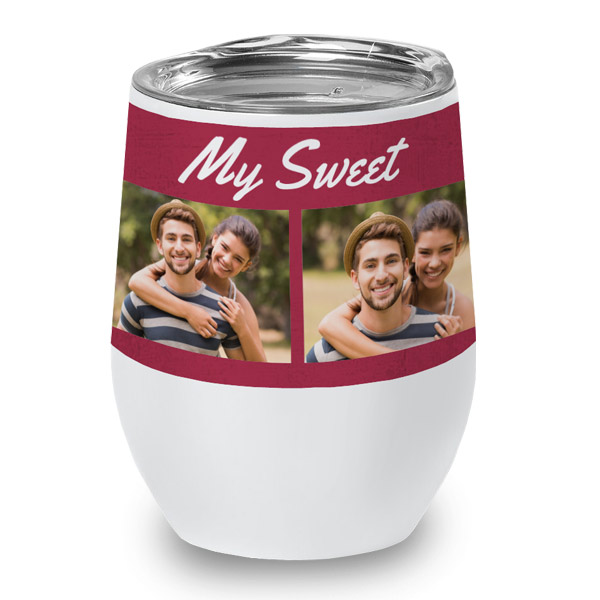 Personalize your own wine cup for parties and events with RitzPix