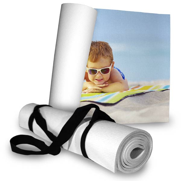 Create a personalized beach mat to take with you for your day on the beach