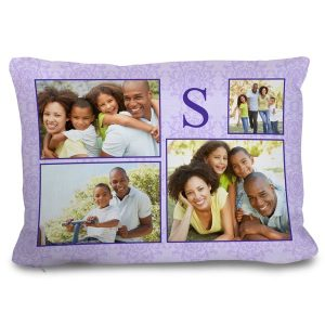 Create a photo collage pillow for your couch and relive your favorite memories every day
