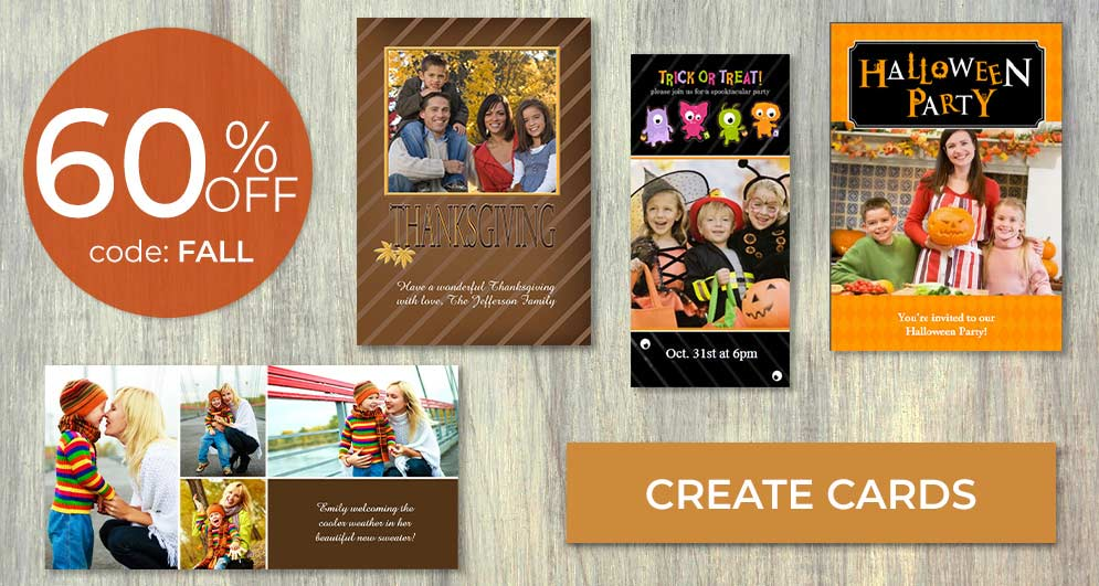 Create and send a custom Halloween card to loved ones